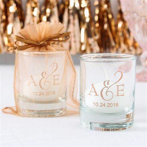 Personalized Shot Glass Votive Holder in 2019   wedding