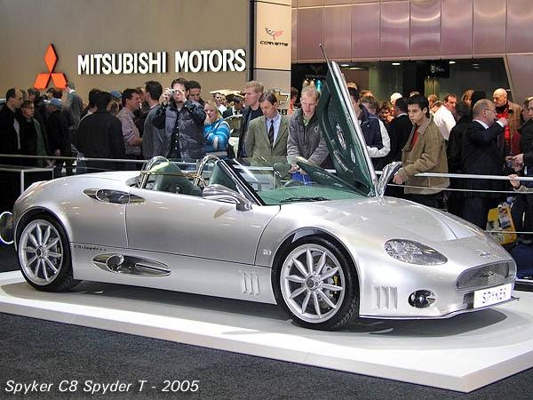 Oxegsgvyb Spyker C8 Spyder 2005