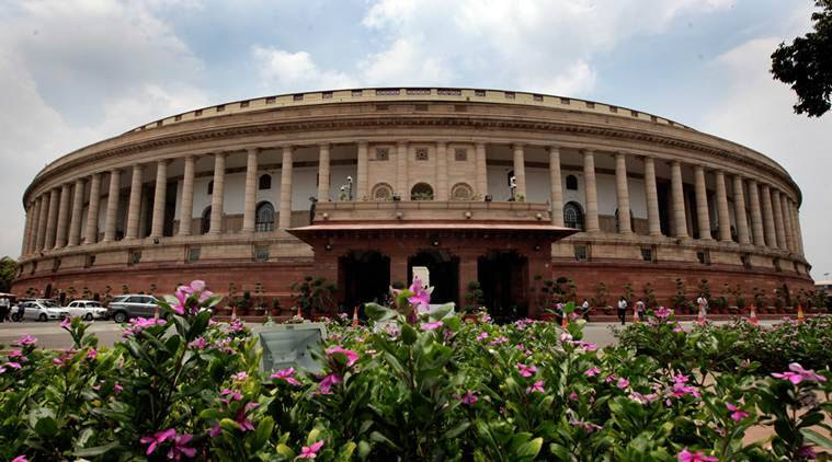 Indian democracy managed like most others by granting the elected members of a legislature the freedom to 'cross the floor' i.e. quit the party which s/he originally joined and to join another party. (Express photo by Ravi Kanojia)