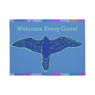 Welcoming Doormat