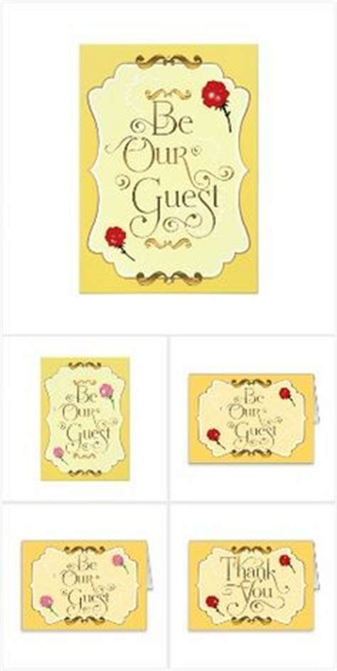 Free Beauty and the Beast party Printables   including