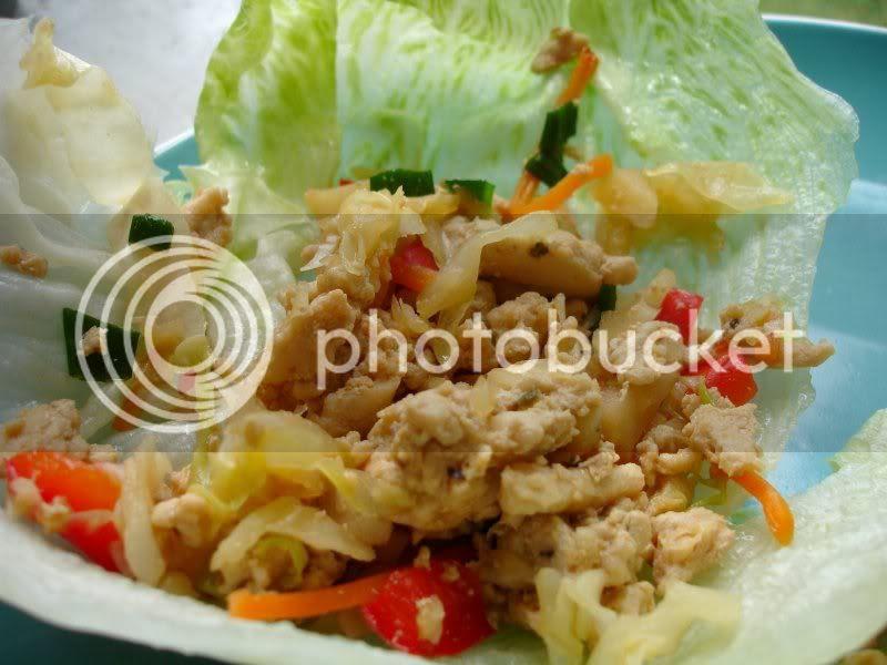 Sweet Chili Chicken Lettuce Wraps