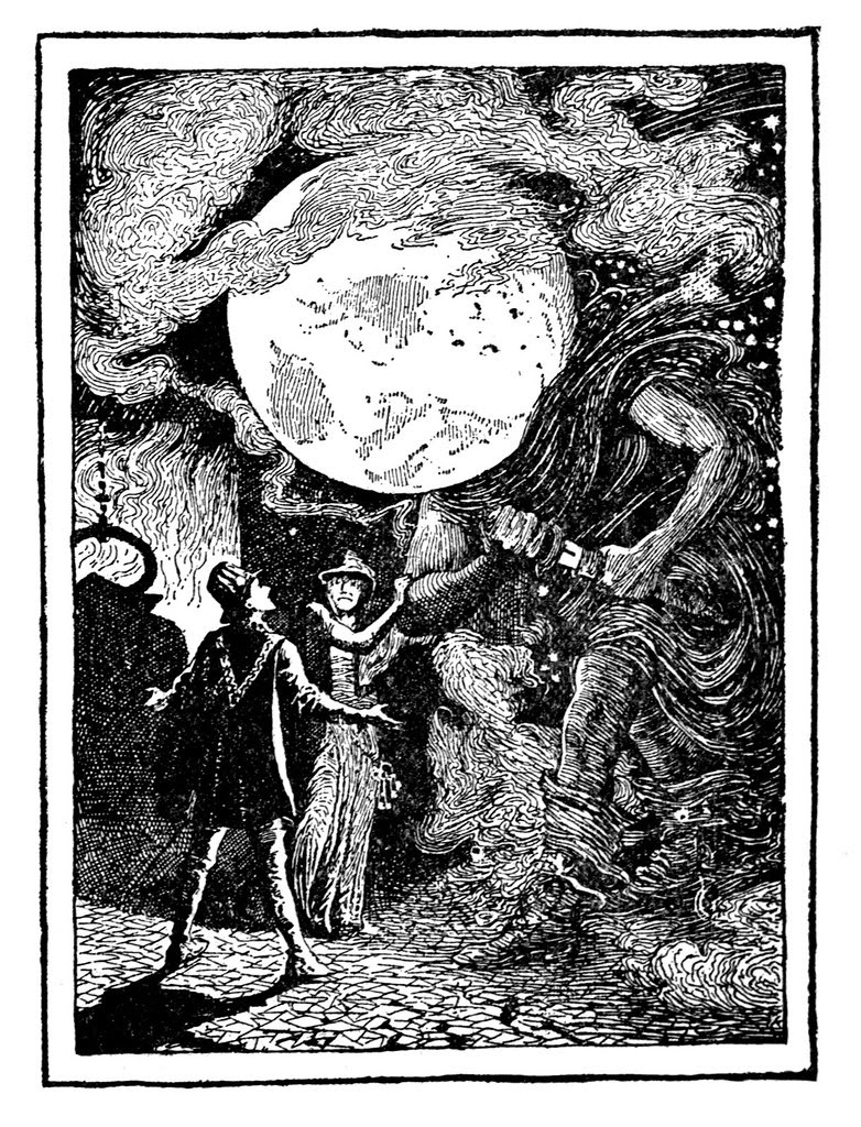 Henry Justice Ford - The green fairy book, edited by Andrew Lang, 1900 (illustration 4)