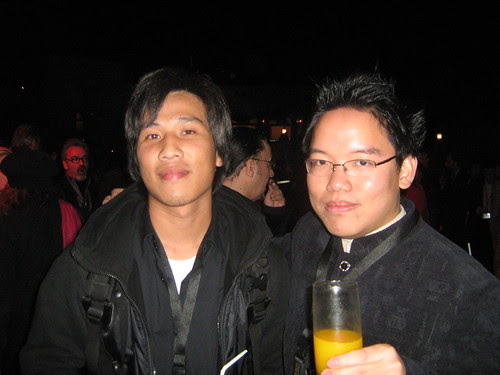 """With Chang Rong-ji (""""The End Of The Tunnel""""), Dubai Film Fest 2008 Closing Ceremony"""