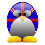 tux, union flag, flag, Britain