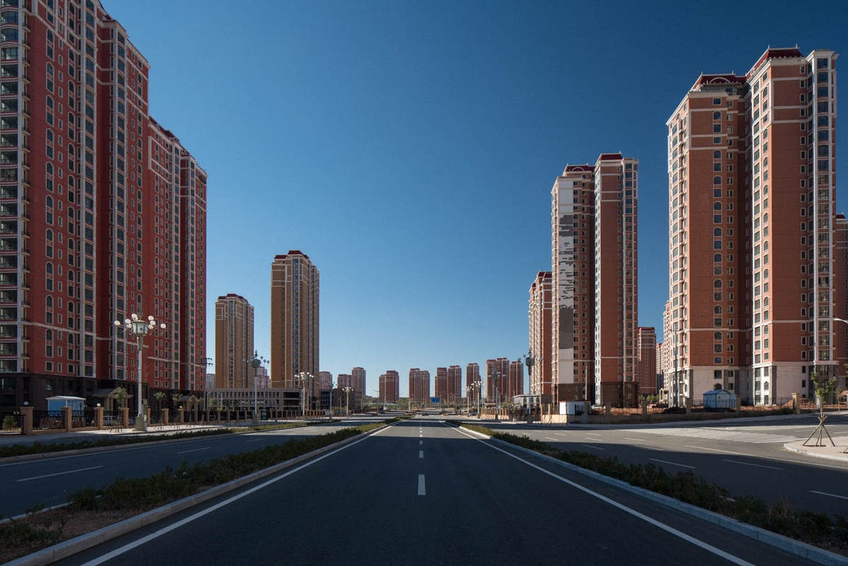 Ordos remains a shell of a futuristic city.