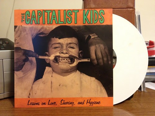 The Capitalist Kids - Lessons on Love, Sharing and Hygiene LP - White Vinyl (/100) by Tim PopKid