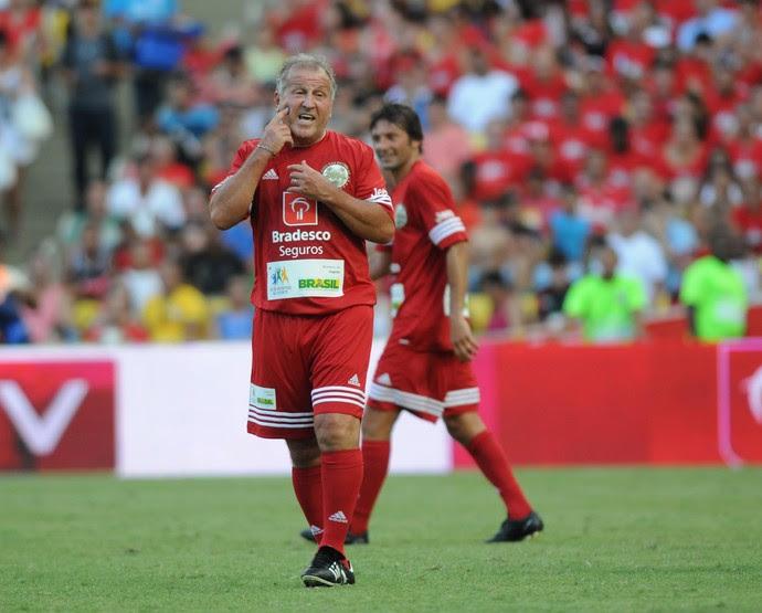 zico Jogo das Estrelas   (Foto: André Durão)