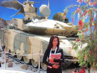 Т-90МС на выставке Defexpo. Фото с сайта uvz.ru
