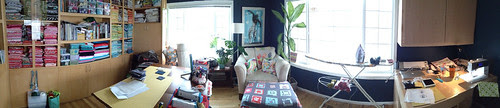 Sewing room pano