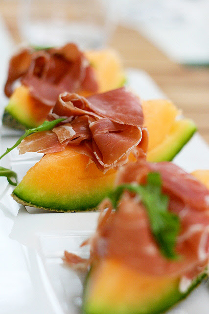Prosciutto e Melone (S$10.80): Aged Parma ham with sweet rock melon