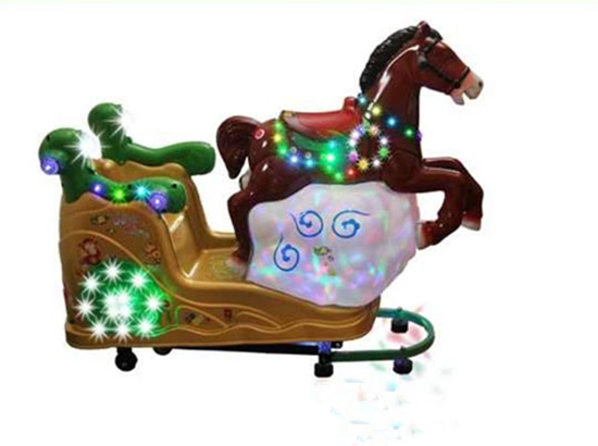 Kiddie Coin Operated Flying Horse
