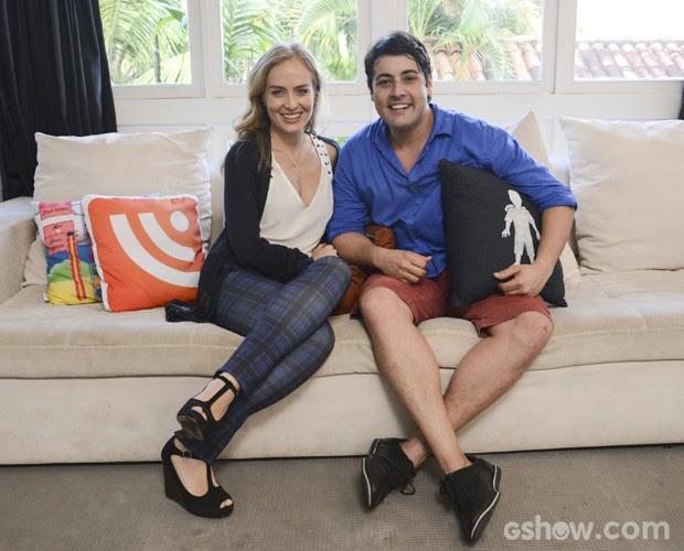 Angélica visita casa de Bruno De Luca (Foto: Raphael Dias / TV Globo)