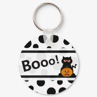Booo! keychain