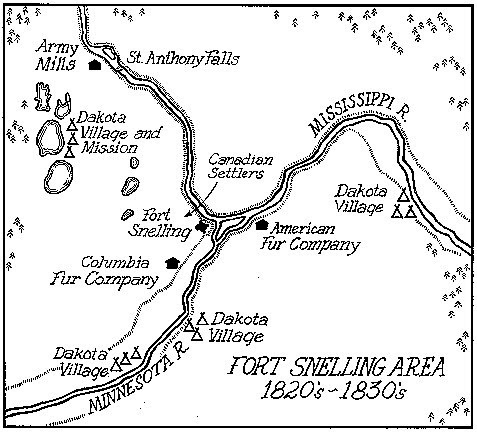 Fort Snelling Map | World Map 07