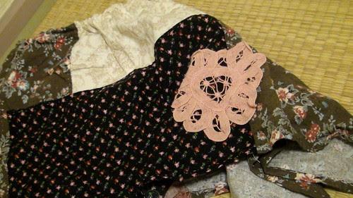 Miyu's patchwork skirt