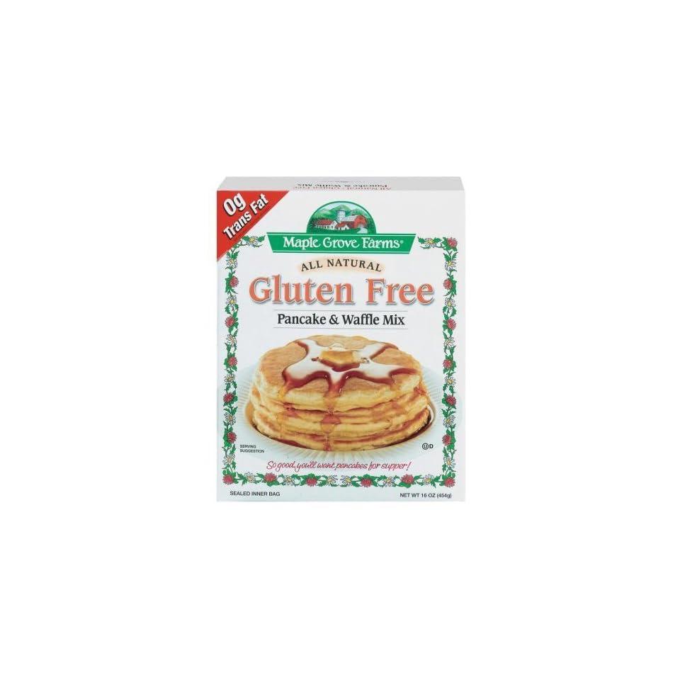 Maple Grove Farms Gluten Free Pancake & Waffle Mix, 16 oz ...