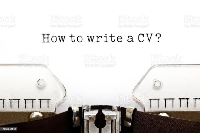 How to write job application