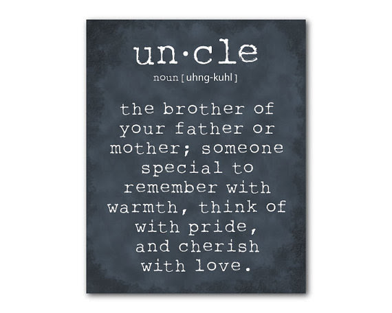 Quotes About Uncle And Niece 21 Quotes