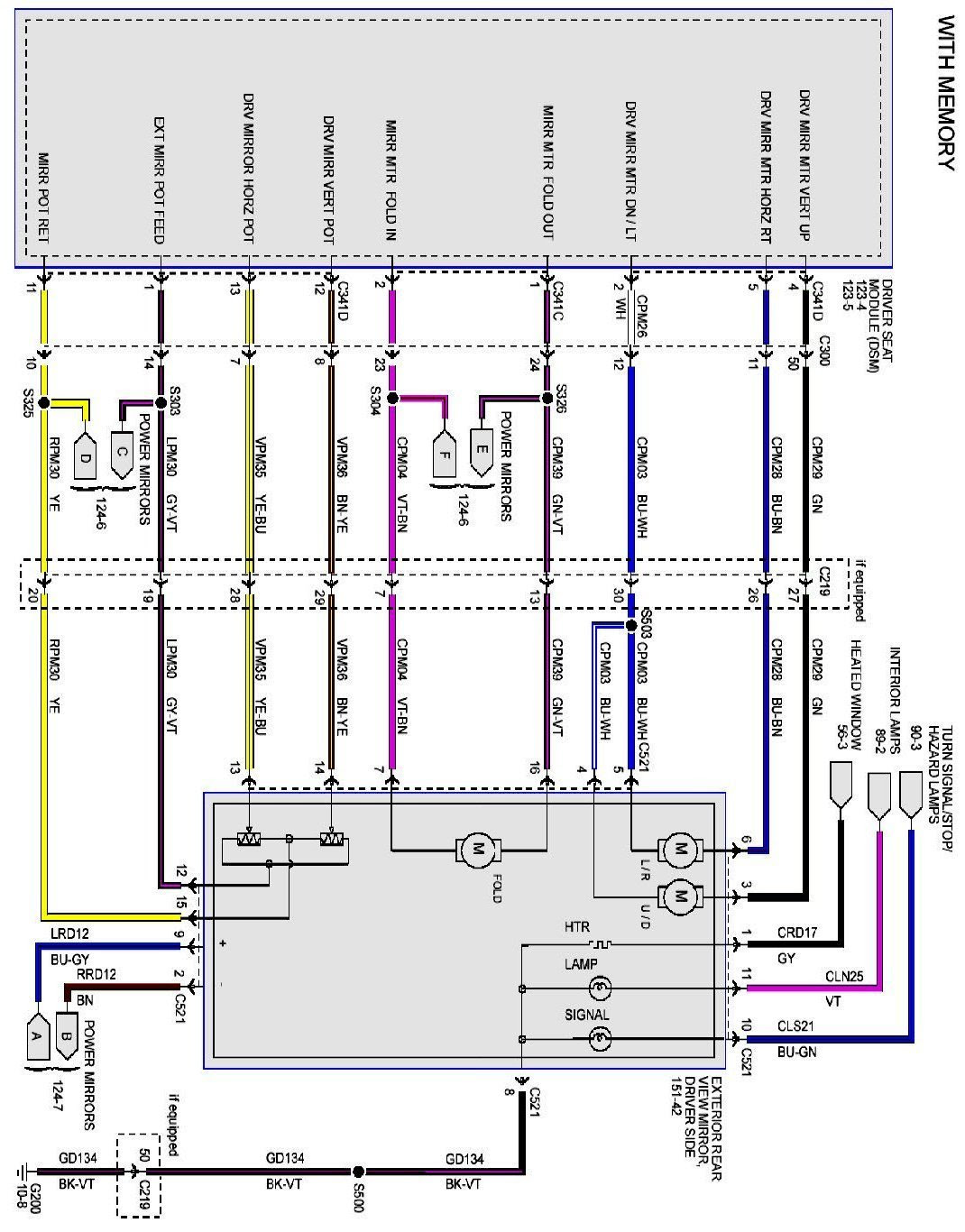 ford mirror wiring diagram image 7