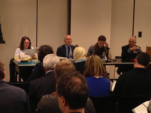 Roland Barthes panel at CUNY