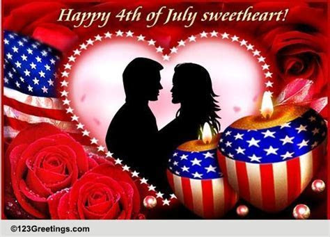 For Your Love On July 4th! Free For Loved Ones eCards