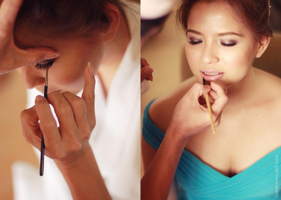 Cebu Destination Wedding Photographer, Wenwen Zaspa makeup