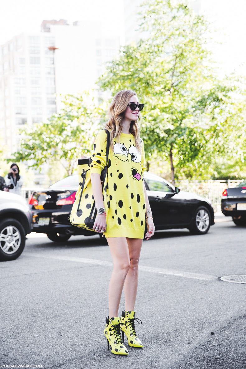 New_York_Fashion_Week_Spring_Summer_15-NYFW-Street_Style-Chiara_Ferragni-Bob-Esponja-
