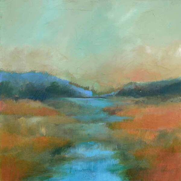 "Afterglow by Filomena Booth Acrylic ~ 30"" x 30"""
