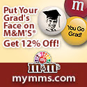 Affiliate / 10% Off Graduation 125x125