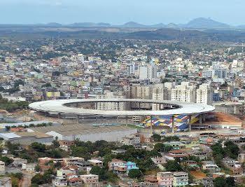 O estádio Kleber Andrade está no páreo para sediar o show do ex-Beatle Paul MacCartney (Crédito: Thiago Guimarães/Divulgação/Governo)