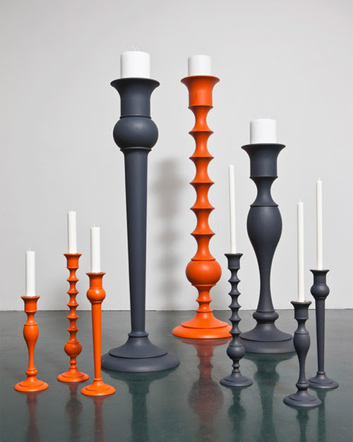 Giant Candlesticks by Anki Gneib - Holy