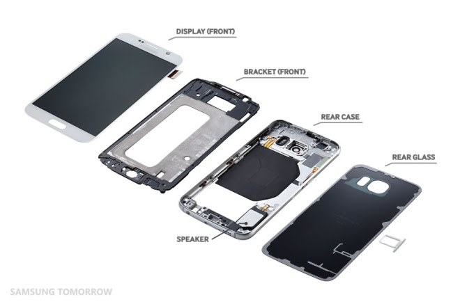 Samsung outs its own Galaxy S6 Teardown
