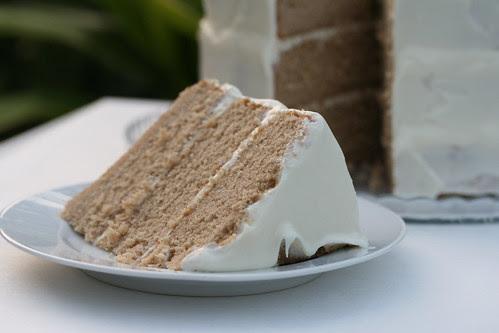 Chai Cake with Honey-Ginger Cream (Sky High Cakes)