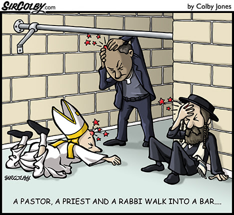 Image result for priests in a pub cartoosn