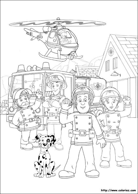 Coloriage Magique Camion De Pompier.Coloriage Magique Pompier Coloriage