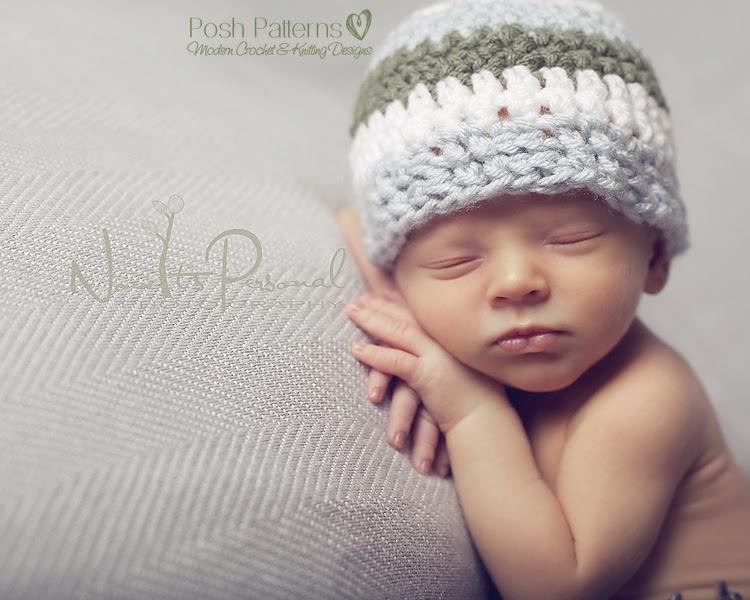 Patrón de ganchillo libre sombrero