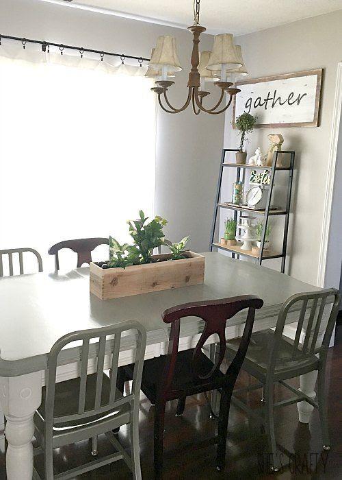 spring decor, easter decor, farmhouse spring decor