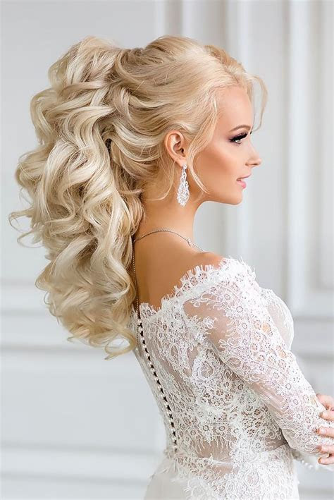 Best 20  Curly wedding hairstyles ideas on Pinterest