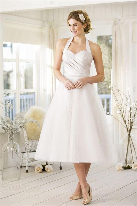 Tea length retro 50's style bridal gown ? FairyGothMother