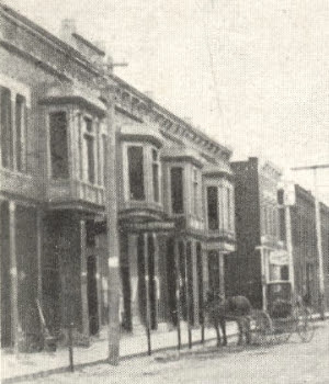 Stommel's storefront early 20th century