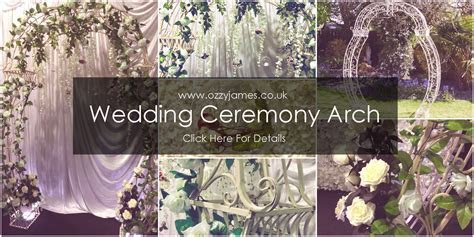 Floral Wedding Arch Hire   Ozzy James Parties & Events
