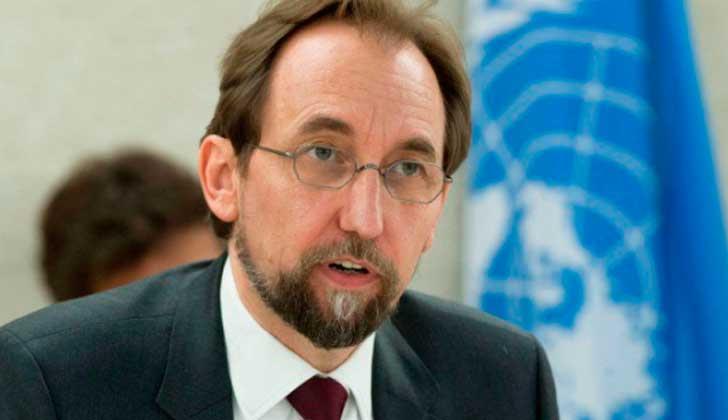 Alto comisionado de la ONU para los DD.HH llegará Uruguay esta semana.