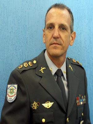 O coronel Hudson Tabajara Camilli, novo subcomandante, comandou a Escola de Educação Física da PM