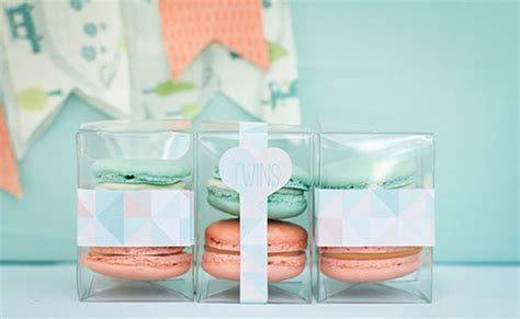Peach and Mint Baby Shower For Twins   Pretty My Party