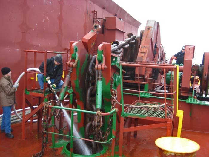 Heaving Anchor