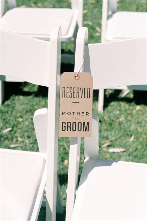 17 Best ideas about Reserved Seating Wedding on Pinterest