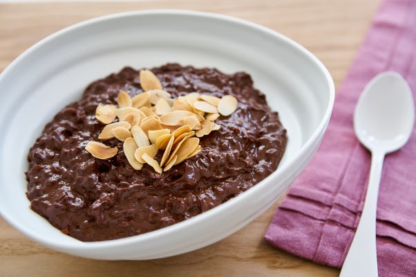 Crave-Worthy Chocolate Rice Pudding | Fresh Tastes Blog ...