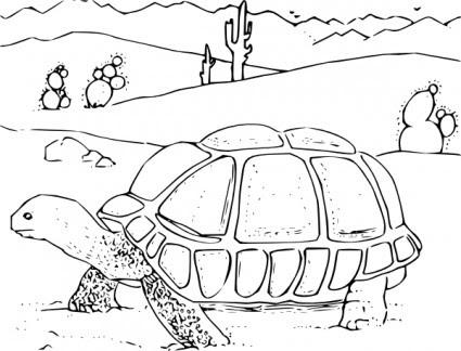 كتاب تلوين الصحراء السلحفاة قصاصة فنية ناقلات قصاصة فنية ناقل حر