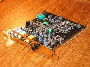 *en: A Chaintech AV-710 sound card, based on t...